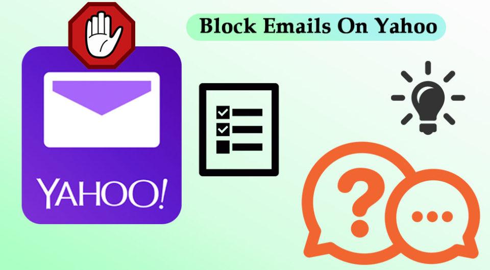 Block Emails On Yahoo