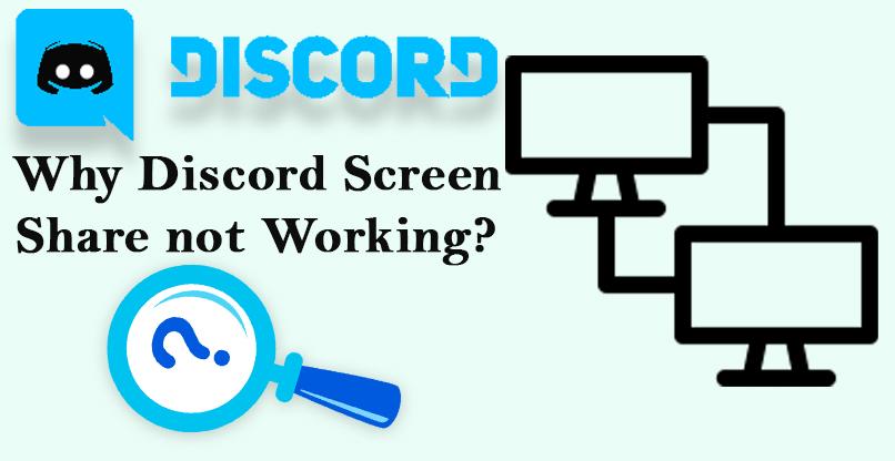 FIX]: Discord Screen Share not Working - Internet Table Talk