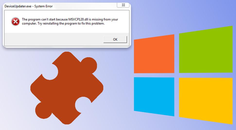 "Retrieve ""msvcp120.dll"" Missing File On Windows 10"